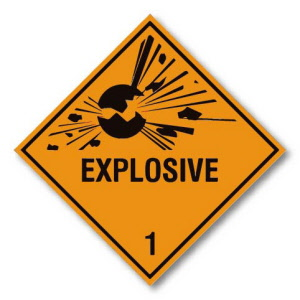 explosive-1-hazard-warning-diamond-250mm