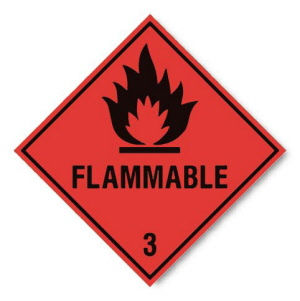 flammable-3-hazard-labels-100x100mm