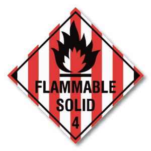 flammable-solid-4-hazard-warning-label-250mm