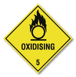 oxidising-5-hazard-warning-label-250mm